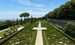 visites du vatican des jardins et de castel gandolfo le petit journal romain. Black Bedroom Furniture Sets. Home Design Ideas