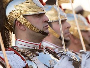 visite-garde-presidentielle-italienne